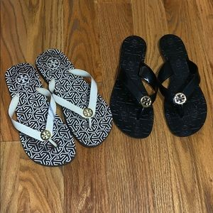 2 Tory Burch Sandals Size 7.5-8